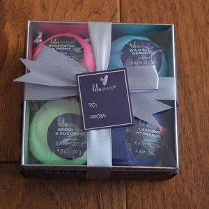 Bath Fizzer Set - 4 different Scents - Bath Set